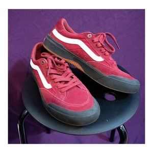 VANS Berle Pro's in Burgundy and Black!